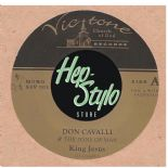 "45Rpm ✦ DON CAVALLI ✦ ""King Jesus / Baby Boy"" - Killer Rockabilly Gospel - Hear♫"